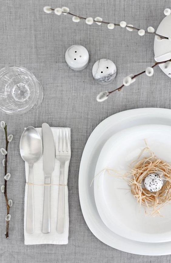 Deco Table Assiette Paques