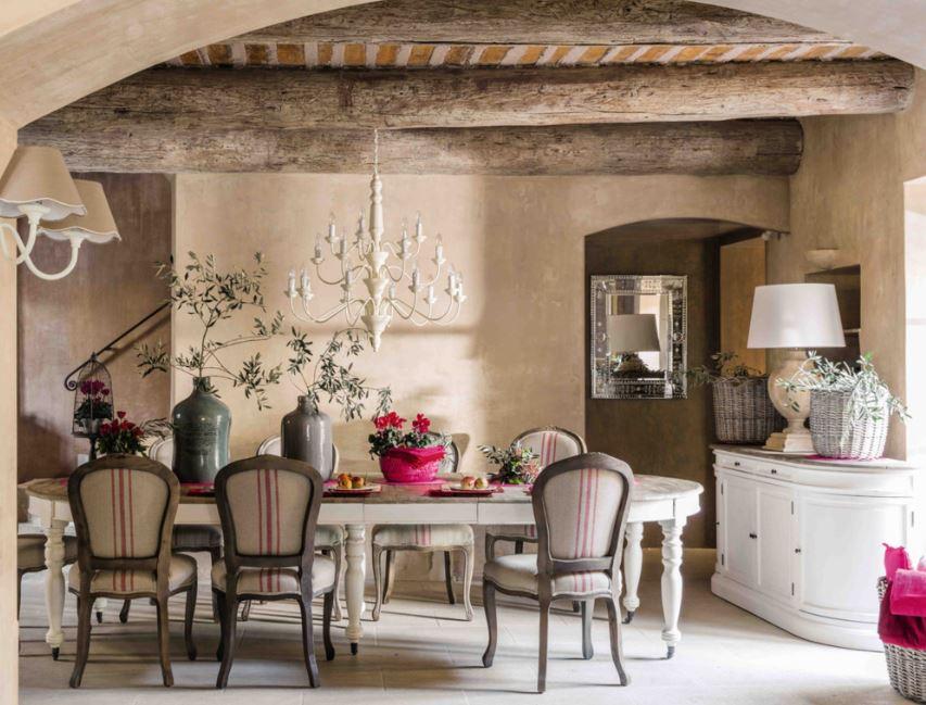 Table Ronde Avec Rallonge Provence