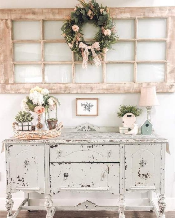 Grande Commode Retro Shabby Chic