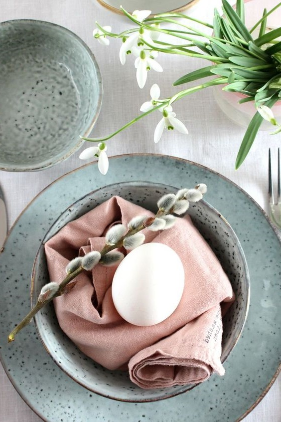 Deco Table Oeuf Paques
