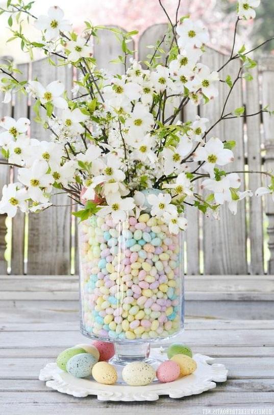Deco Vase Fleurs Paques
