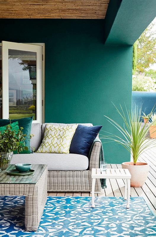 Terrasse Vert Sapin