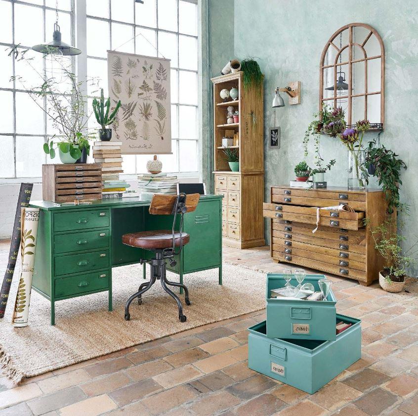 Bureau Factory Inspiration Botanique