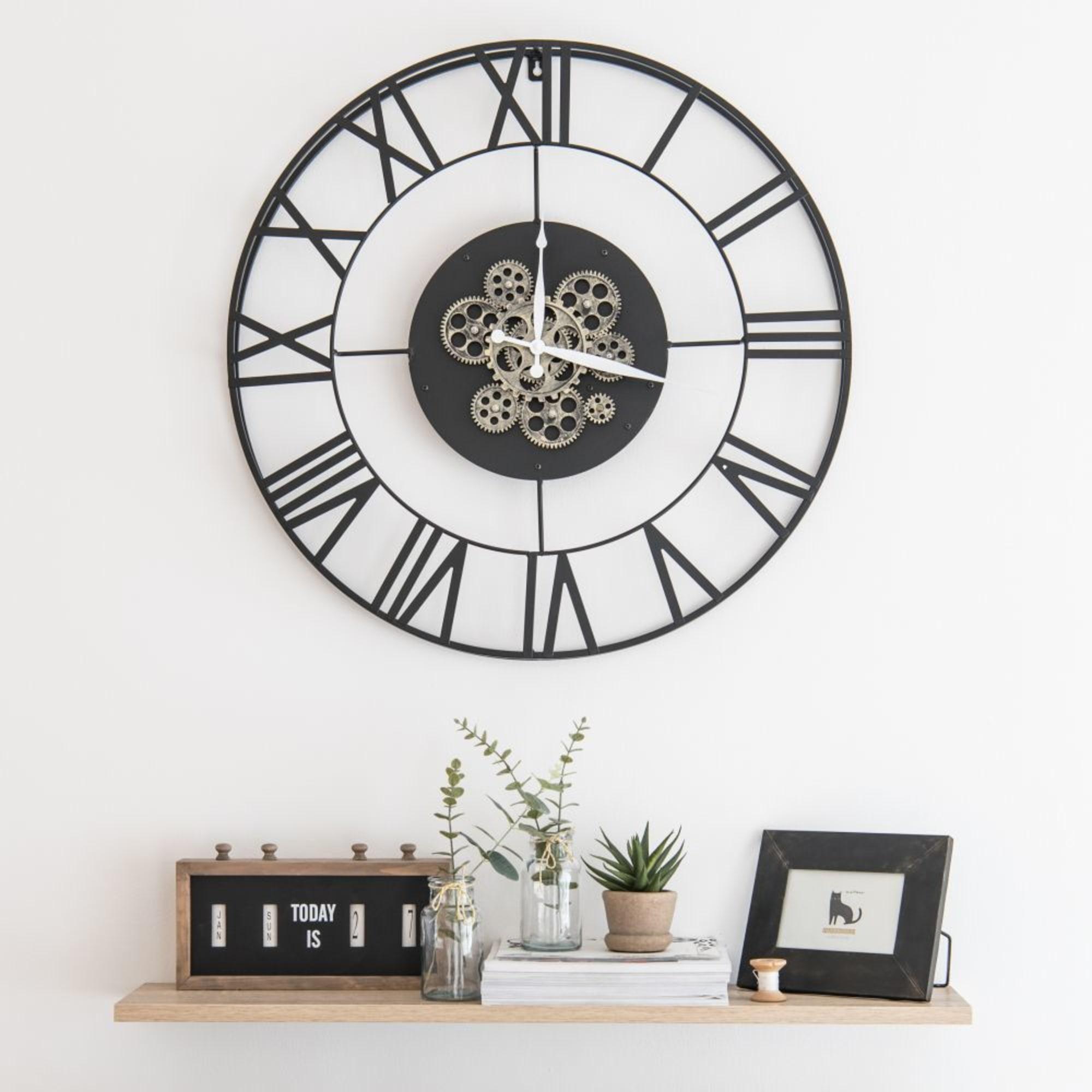Horloge Murale Industrielle Roby