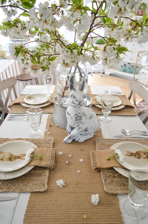 Deco Table Paques