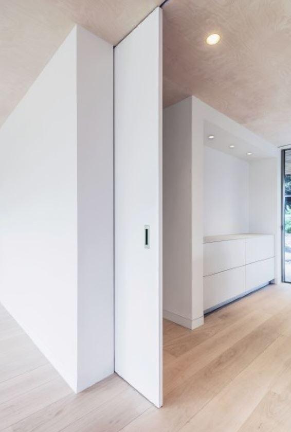 Porte Coulissante Avec Fixation Au Plafond