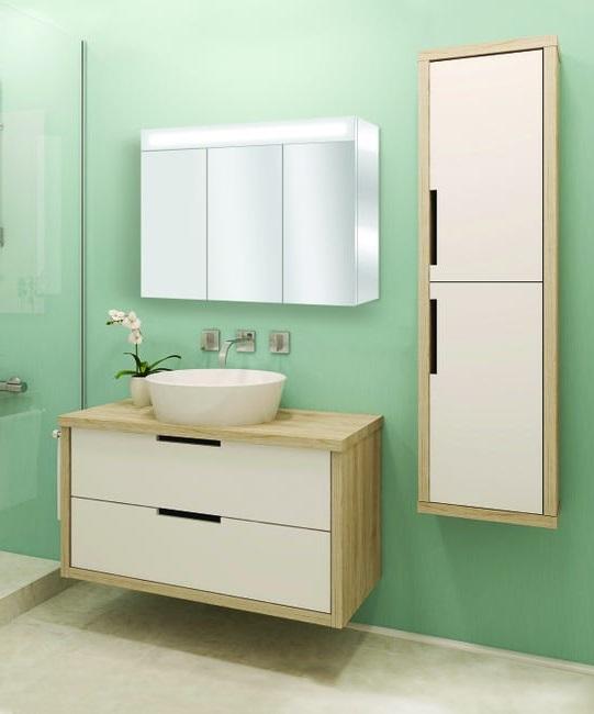 Armoire De Toilette Avec Miroir Lumineux