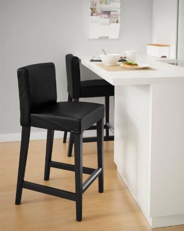 Chaise De Bar Brun Noir Moelleuse