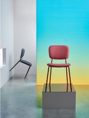 Chaise Rouge Colorée Karjian Pour Une Décoration Pleine De Tonus