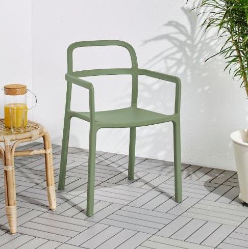 Chaise Verte Pour Salle à Manger Ou Terrasse