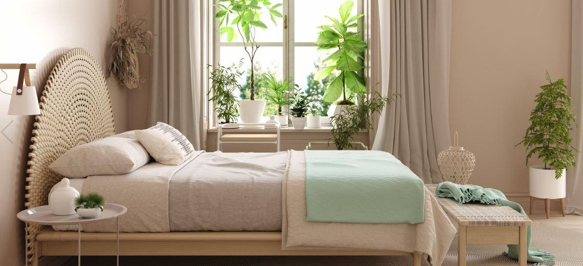Chambre Pastel De Style Scandinave