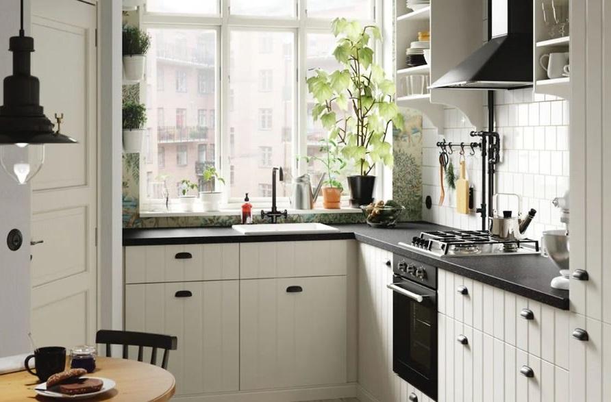 Cuisine De Cottage Cosy Dans Un Appartement De Ville