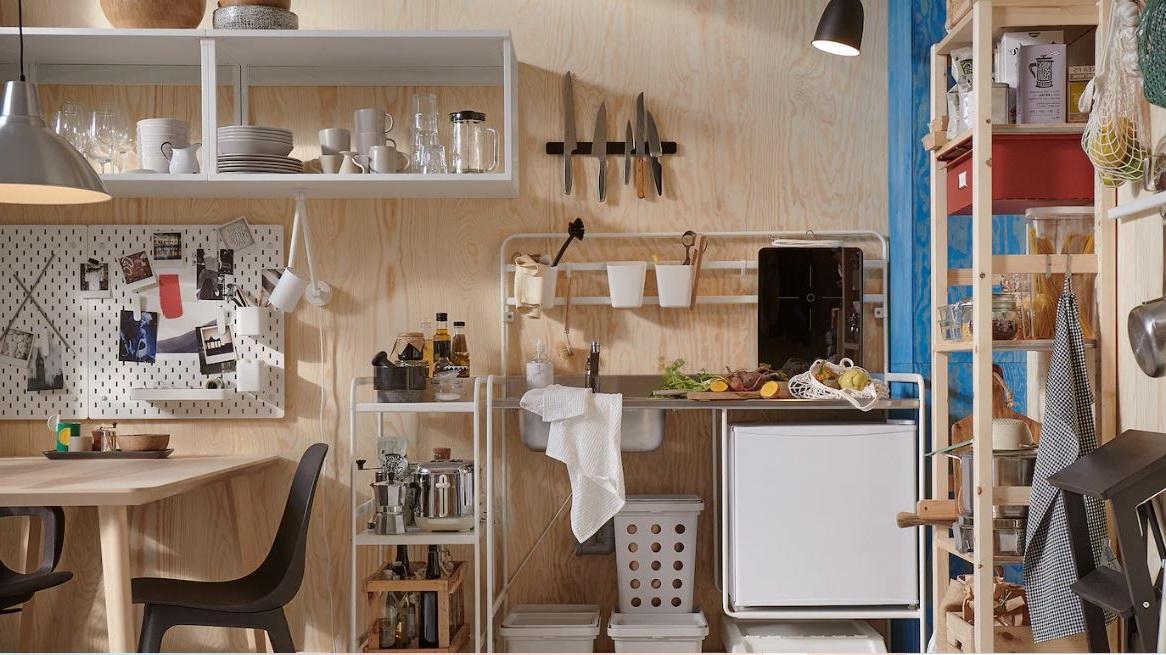 Cuisine Ikea Polyvalente Et Pratique Type Kitchenette