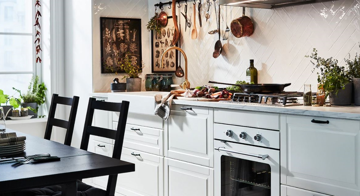 Cuisine Slow Cooking Minimaliste En Blanc