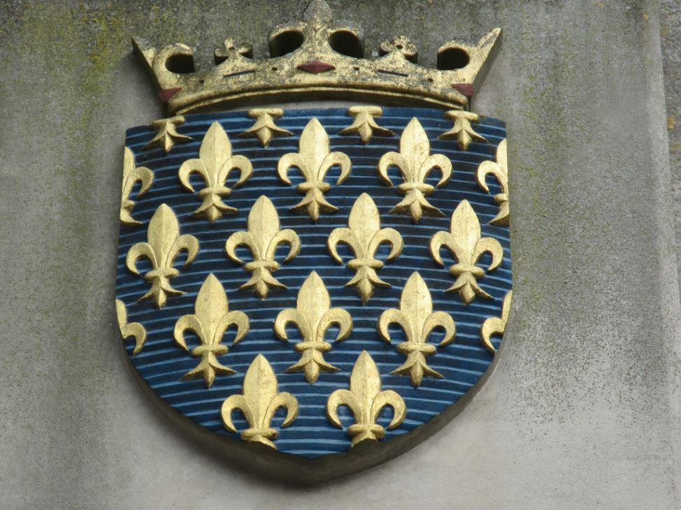Fleur De Lys Symbole Royauté Monarchie