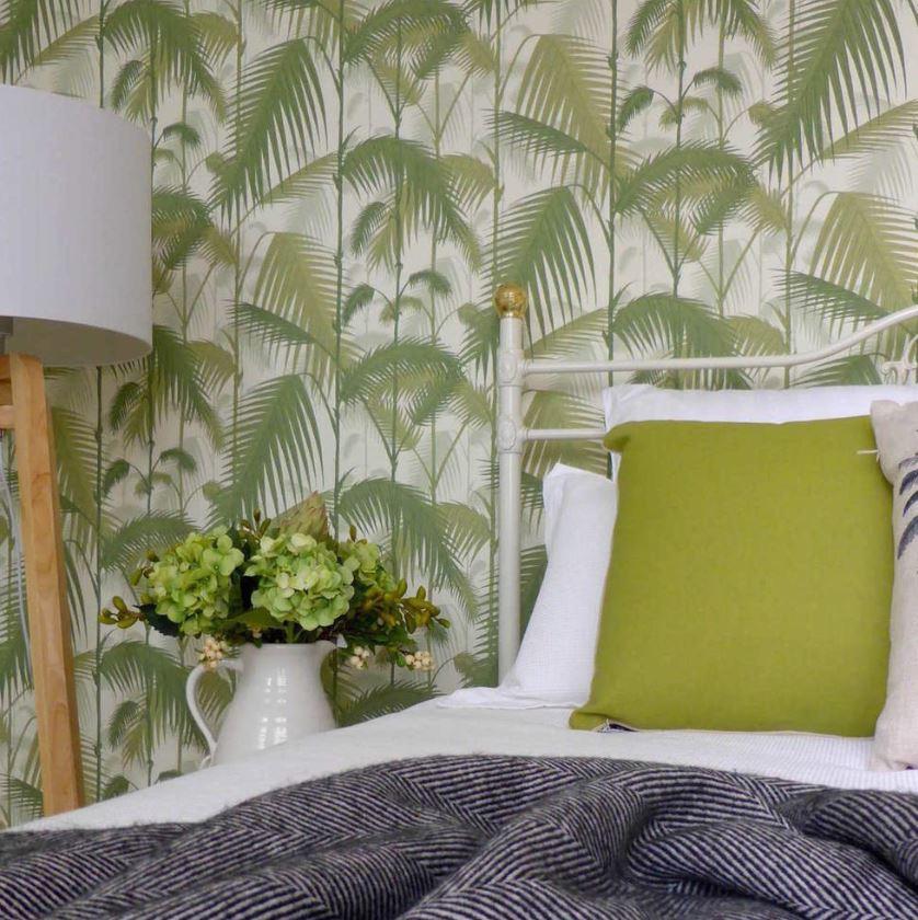 Chambre Vert Esprit Jungle