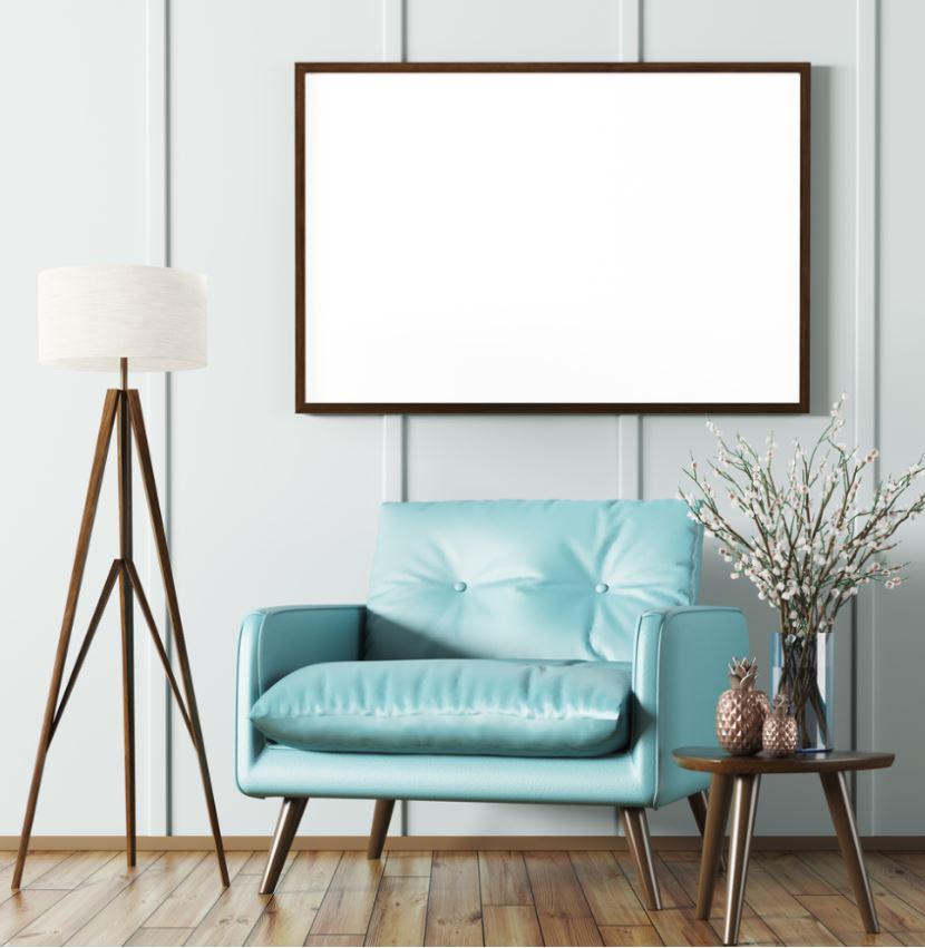 Élément De Décoration Bleu Ciel
