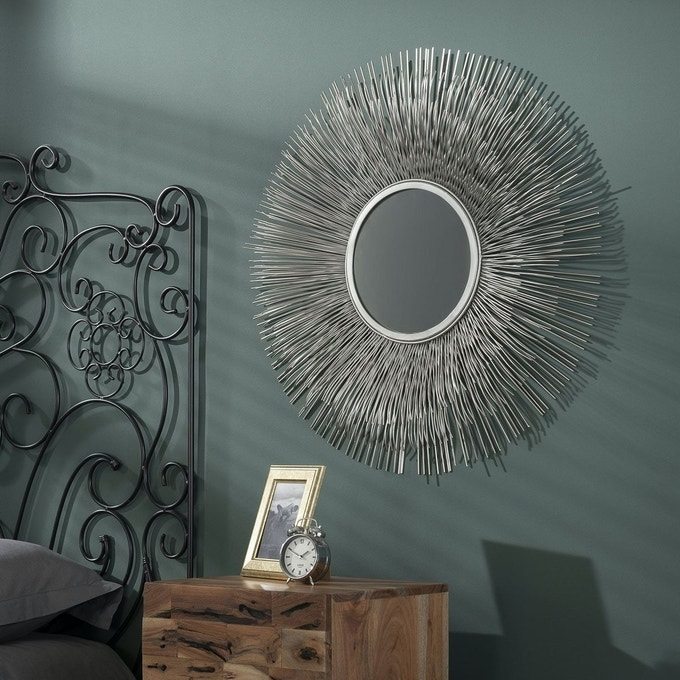 Miroir Soleil Tribeca Finition Antique