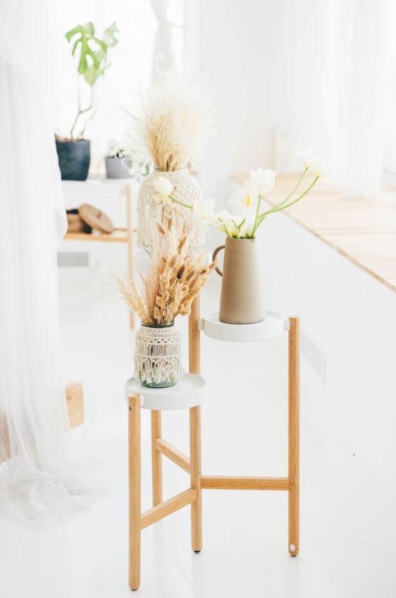 Habillage Pots Et Vases En Macrame