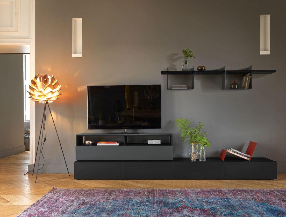 Salon Moderne Meuble Tv Minimaliste