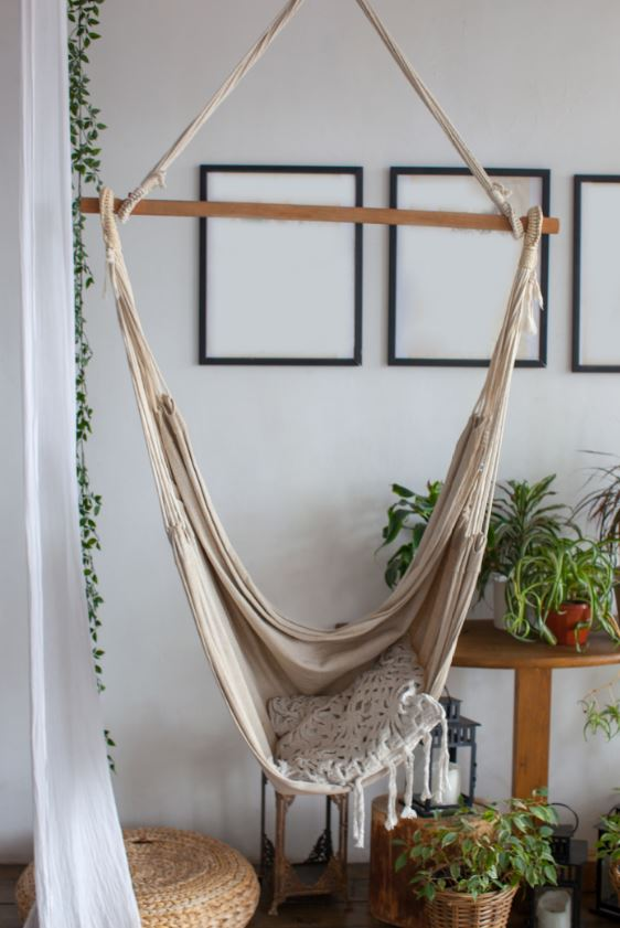 Coussin Macrame