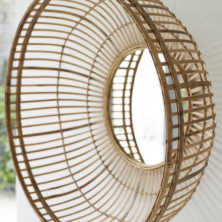 Miroir En Bambou Marta