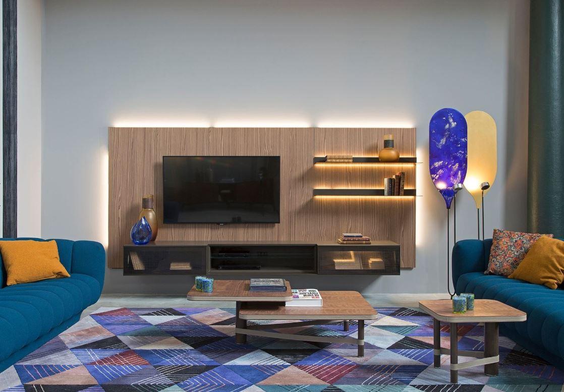 Salon Moderne Ambiance Arty