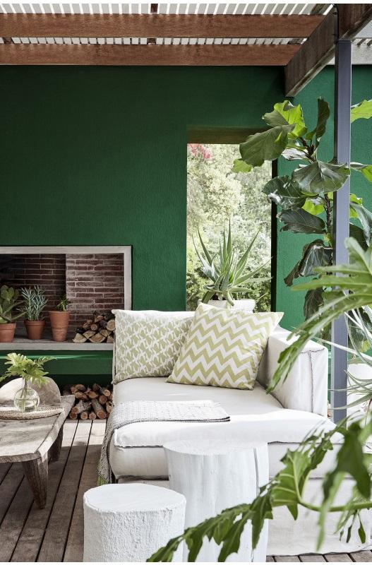 Camaieu Vert Et Jaune Moutarde