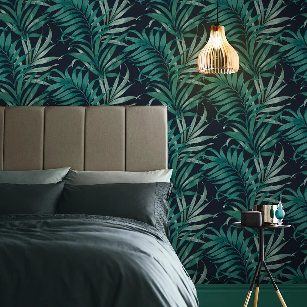 Chambre Verte Esprit Jungle