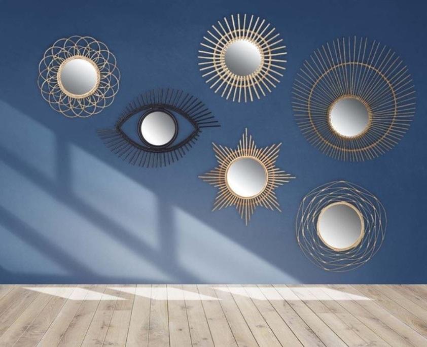 Miroirs En Rotin Formes