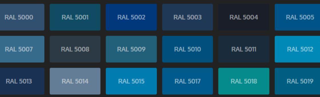 Ral 5015 Bleu Ciel