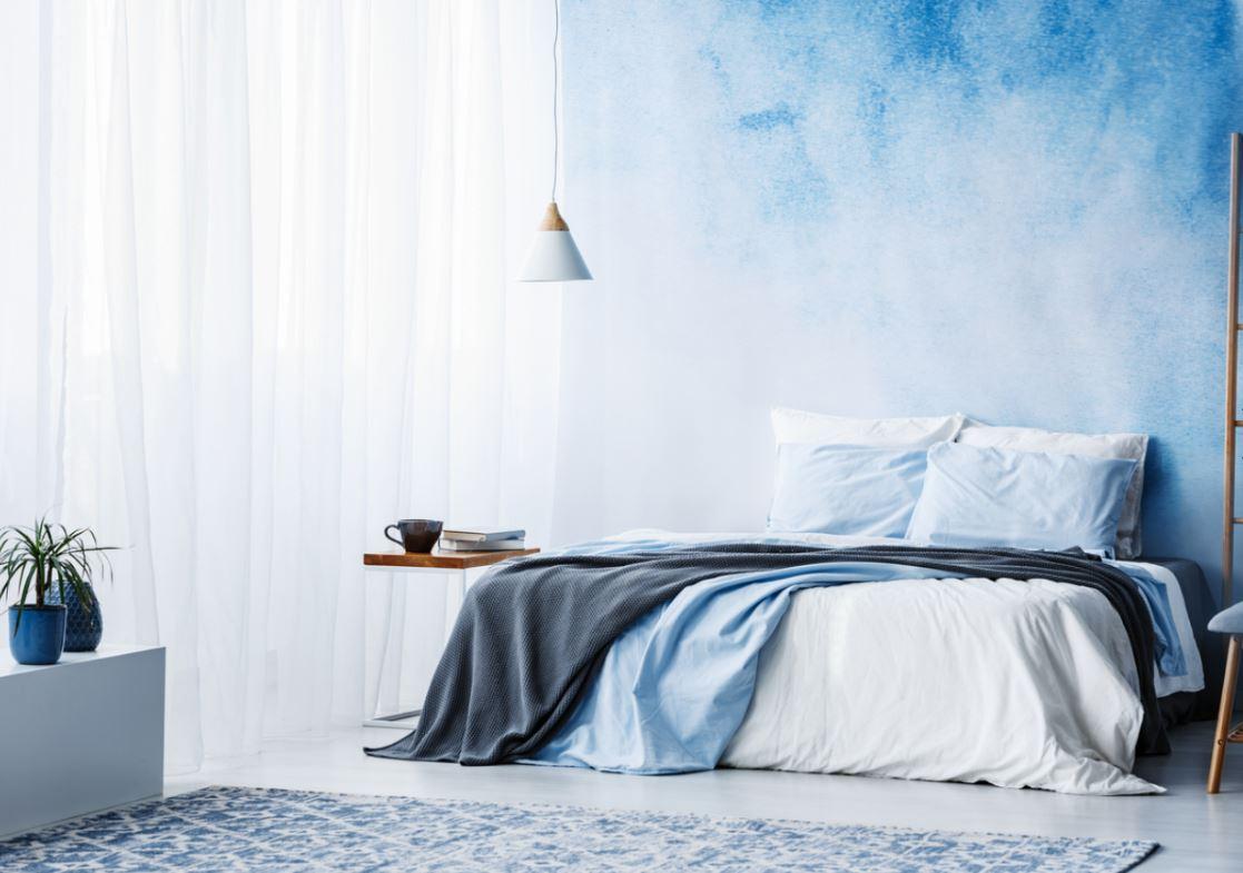 Chambre Avec Plusieurs Bleus