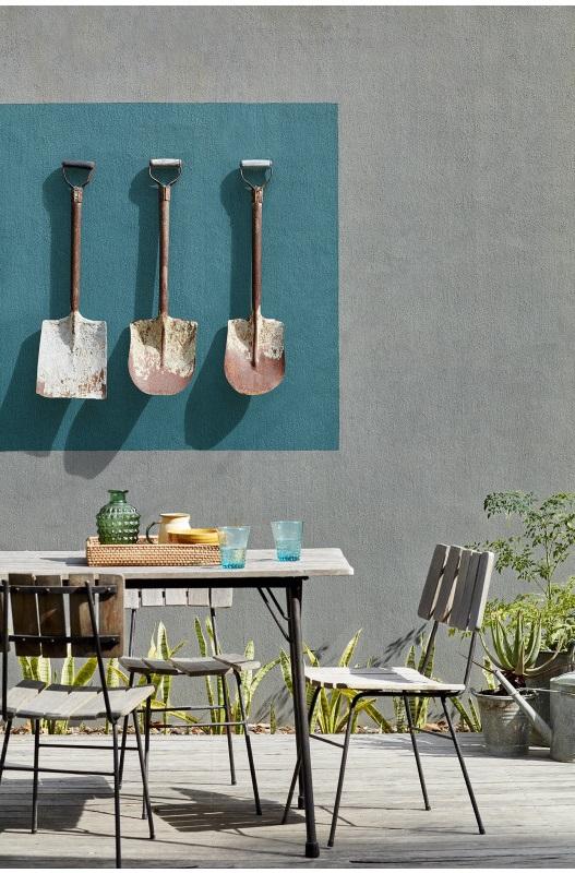 Mur Exterieur Peint Esprit Upcycling