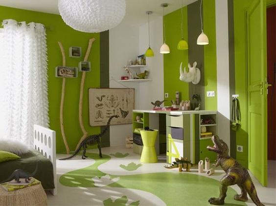 Chambre Vert Anis Camaieu