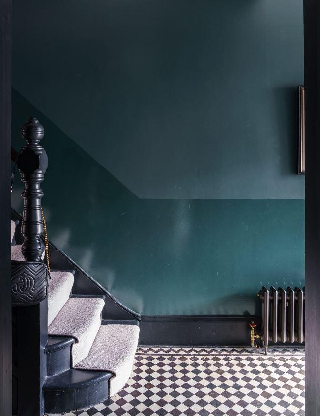 Harmonie Bleu Nuit Et Vert