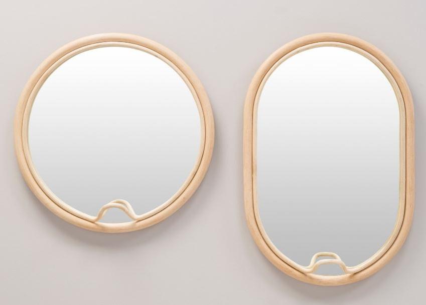 Miroirs Rotin Design