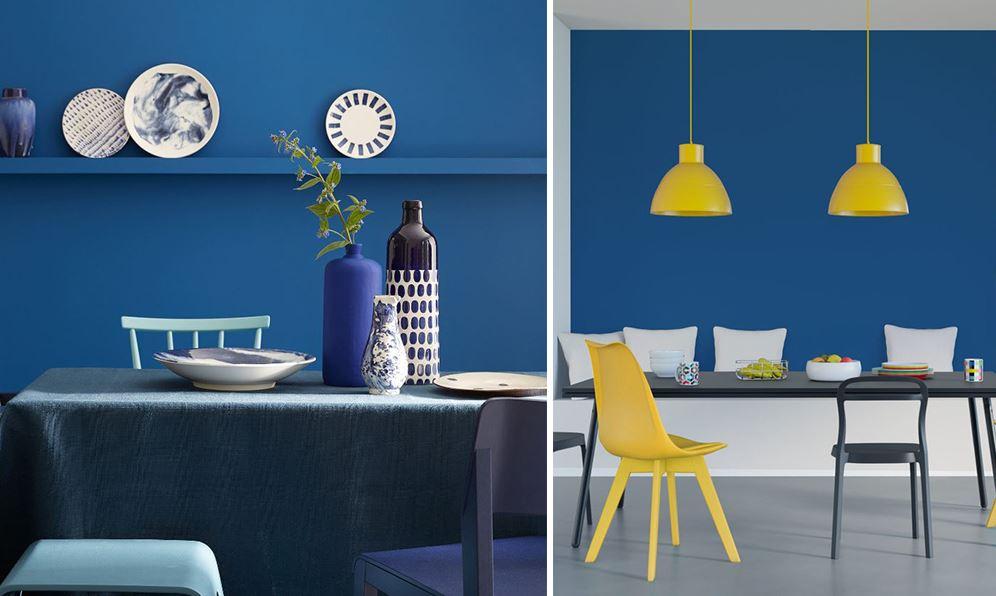 Bleu Electrique Deco