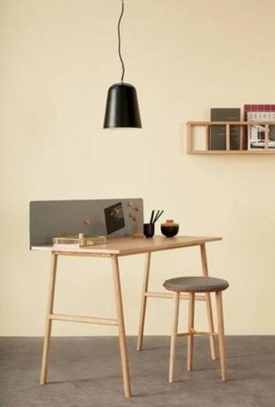 Bureau En Chêne Au Design Scandinave