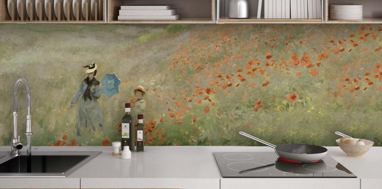 Crédence Artistique Claude Monet