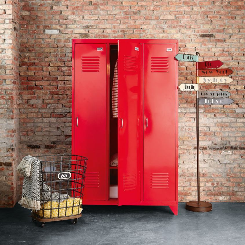 Dressing Industriel Rouge