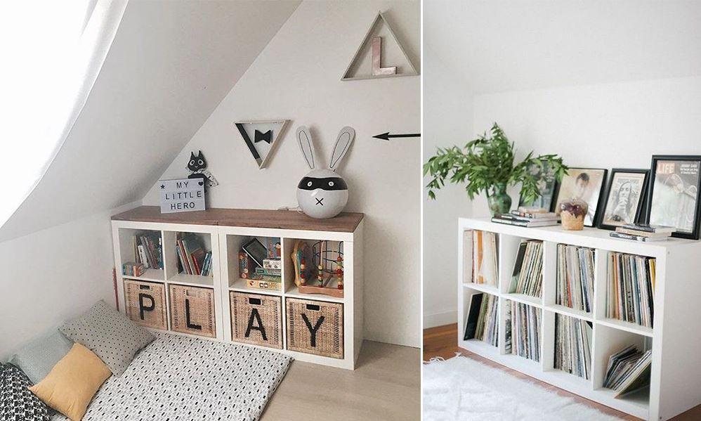 Meuble Ikea Kallax Deco