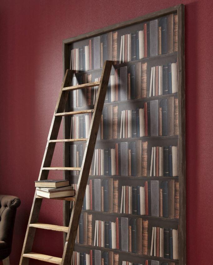 Papier Peint Bibliothèque