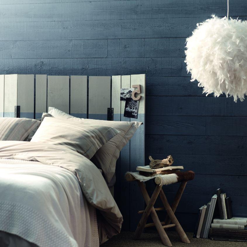Papier Peint Bleu Pour Une Décoration Scandinave