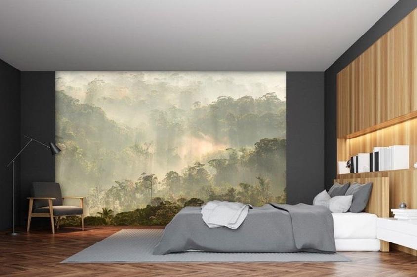 Papier Peint Panoramique Forêt