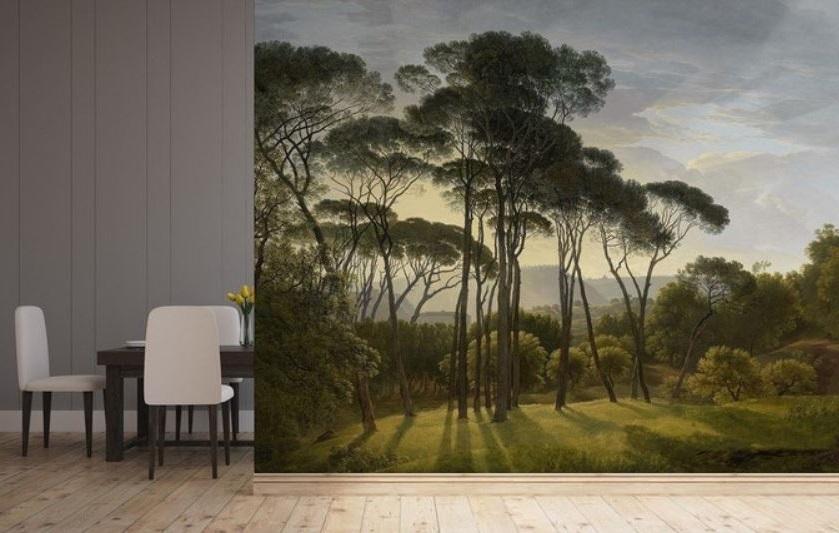 Papier Peint Panoramique Inspirée De La Nature