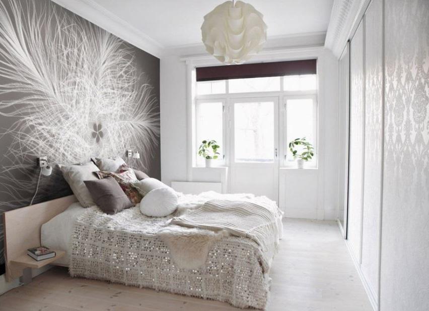 Photo Murale En Gris Et Blanc