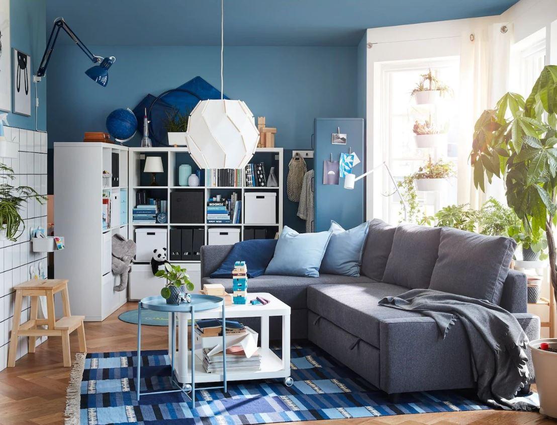Petit Salon Contemporain Avec Canape D'angle