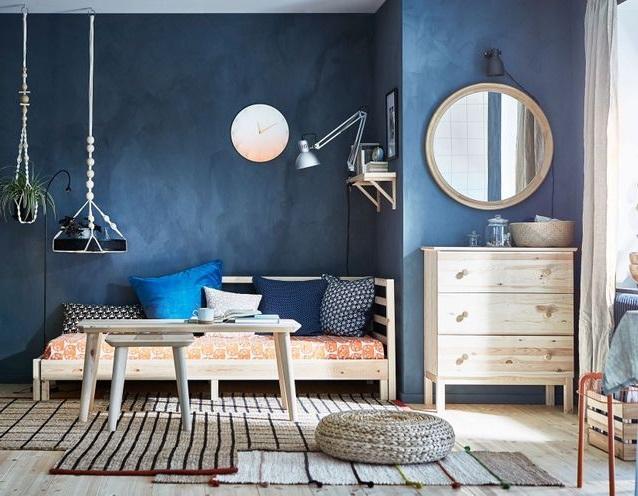 Petit Salon Moderne Exploitant Les Angles