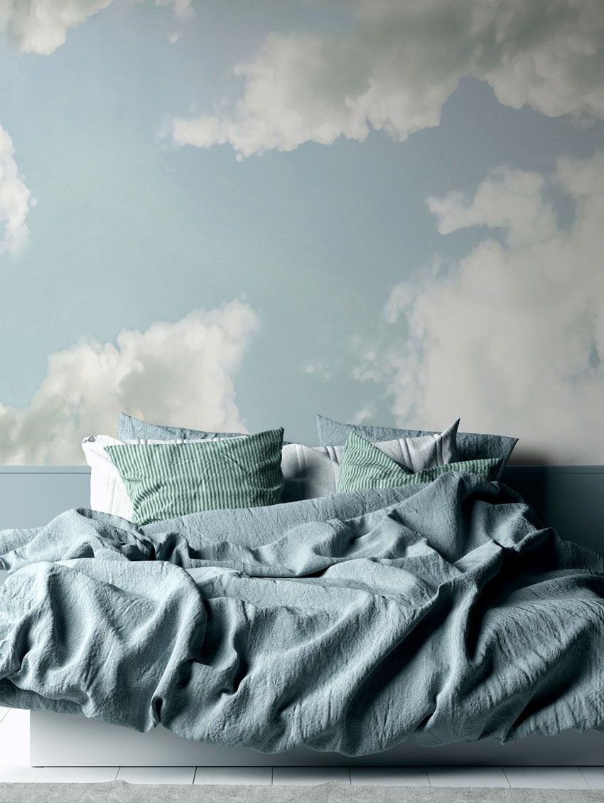Fresque Cumulus Avec Sous Bassement