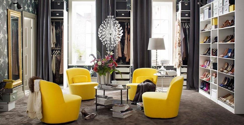Dressing Luxe Façon Salon